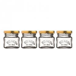 Kilner  Zestaw 4 minisłoiczków, Mini Jars