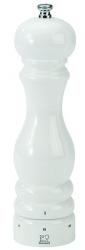 Paris Młynek do soli biały połysk 18 cm PG-27810