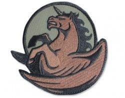 Naszywka Mil-Spec Monkey Pegasus Unicorn - Forest (16283)