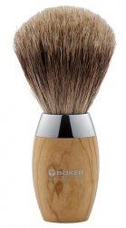 Pędzel do golenia Boker Olivenholz