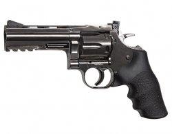 Wiatrówka - rewolwer Dan Wesson 715 4 BB 4,5 mm - steel grey (18611)