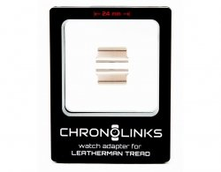 Adapter ChronoLinks 24 mm Silver do mocowania zegarka na multitoolu Leatherman Tread