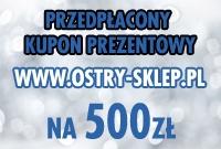 Kupon prezentowy przedpłacony 500 zł