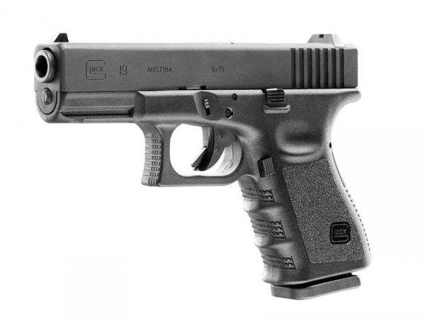 Pistolet Glock 19 4,5 mm