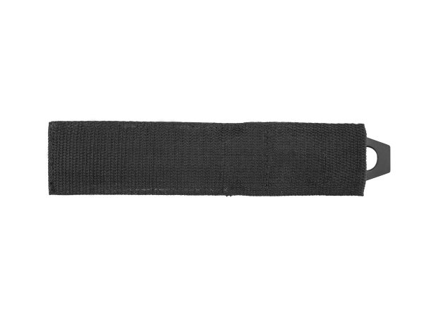 Nóż rzutka czarna 22,5 cm w pokrowcu (45193A)