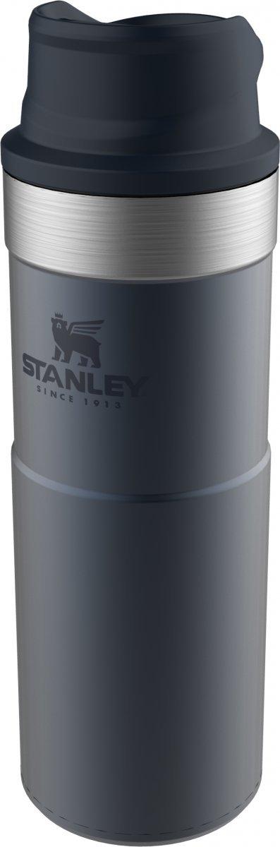 Kubek termiczny stalowy TRIGGER CLASSIC - granatowy 0.47L / Stanley