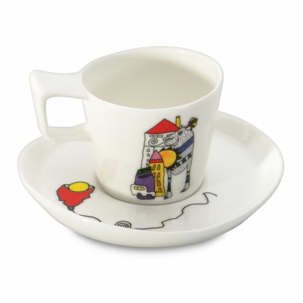 Filiżanka z talerzykiem Espresso (0,095L) 2 szt Codriez Berghoff