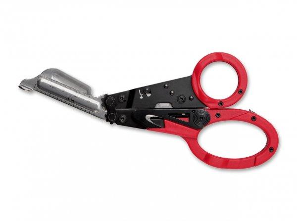 Nożyczki ratownicze SOG ParaShears Red