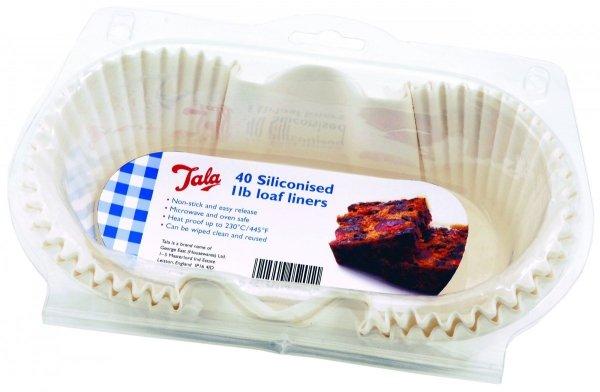 Formy papierowe do pieczenia silikonowane 40 szt. - małe Tala