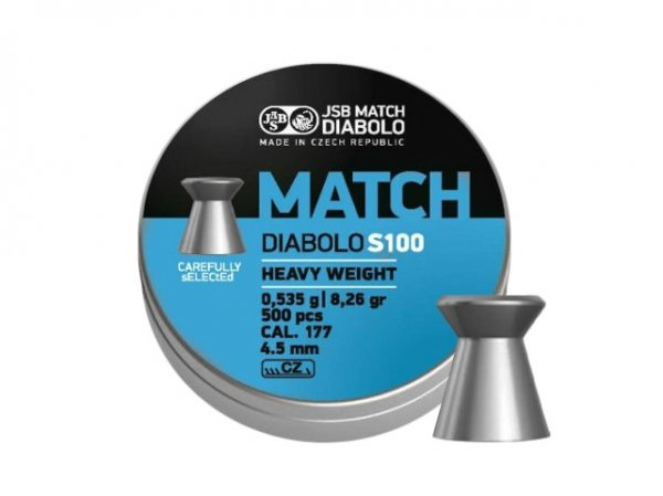 Śrut diabolo JSB Match Heavy S100 4,51 mm 500 szt.