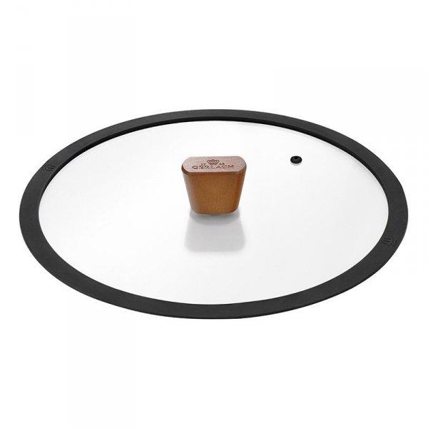Gerlach Zestaw Patelni z powłoką ceramiczną Natur 20+24+28cm z pokrywkami
