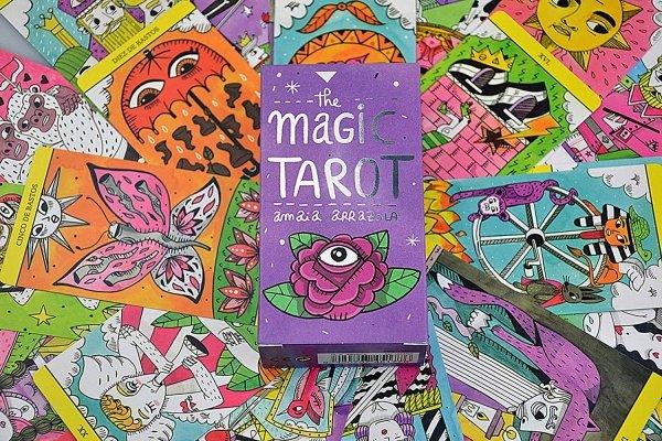Magic Tarot by Amaia Arrazola