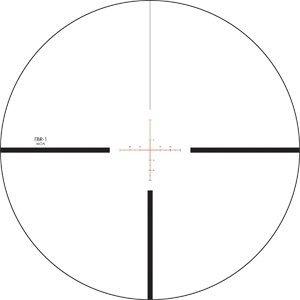 Luneta celownicza Vortex Viper PST 6-24x50 FFP 30 mm AO EBR-1/EBR-2C