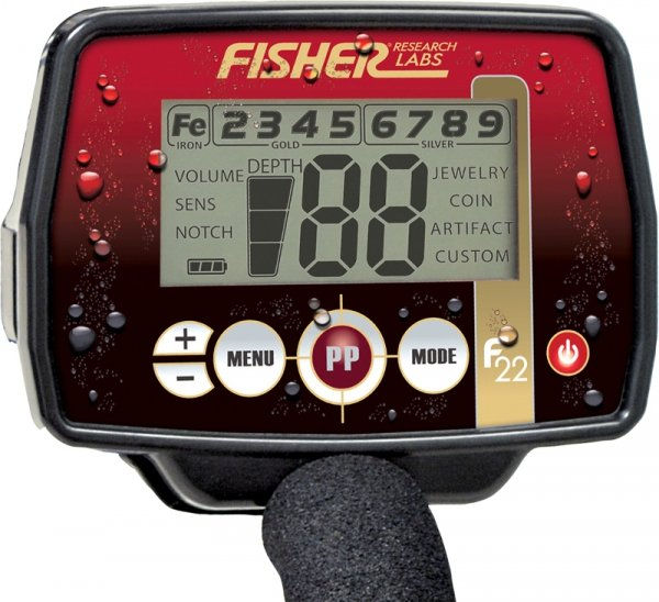 Wykrywacz metali Fisher F22 11'' DD