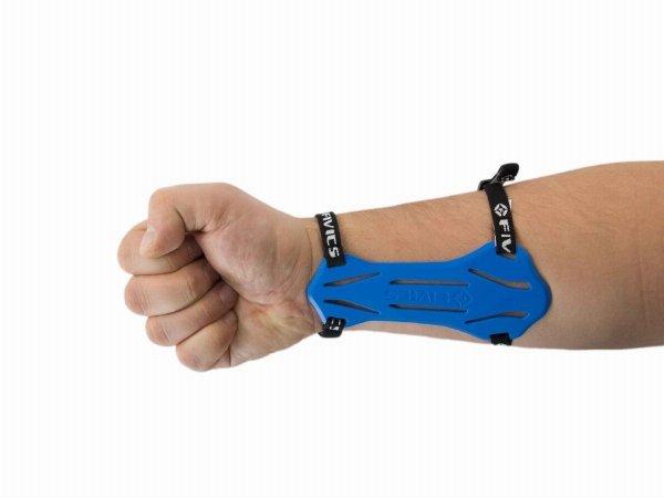 Ochraniacz przedramienia Fivics niebieski