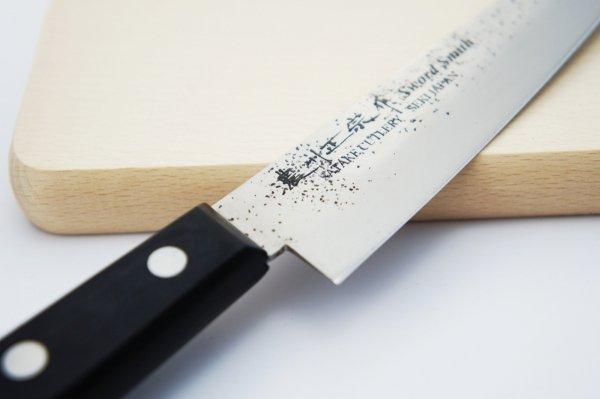 Nóż uniwersalny 12 cm Satake Nashiji Black Pakka