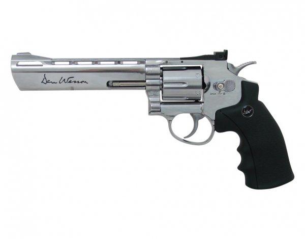 Wiatrówka - rewolwer Dan Wesson 6'' BB 4,5 mm Silver (16559)