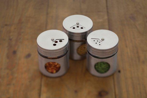 Kitchen Craft Pojemniczki na przyprawy - 6 szt.