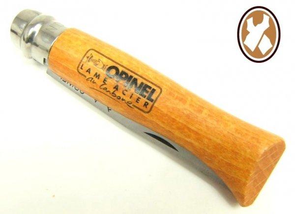 Nóż Opinel 9 carbon buk