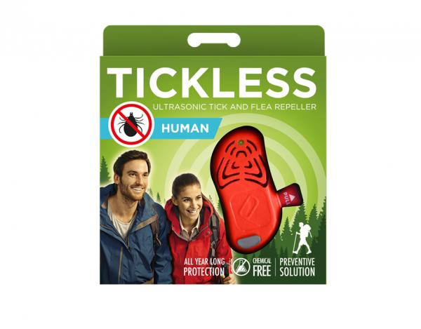 Ultradźwiękowy odstraszacz kleszczy TickLess dla ludzi (PRO10-203)