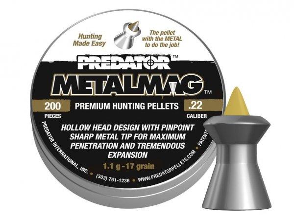 Śrut Diabolo JSB METALMAG 4,5 mm 200 szt