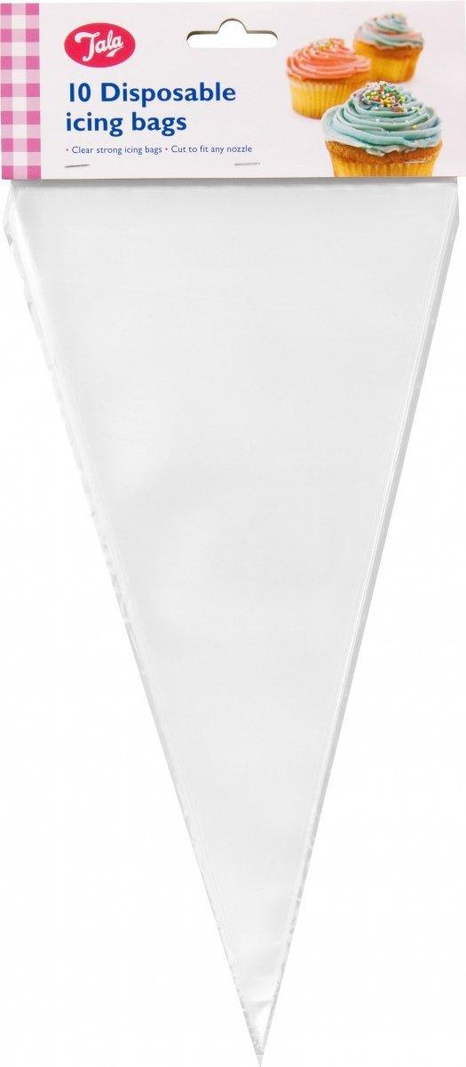 Rękawy cukiernicze jednorazowe - 10 szt Tala