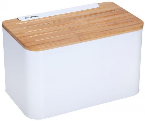 Chlebak Z Deską Biały Kh-1072