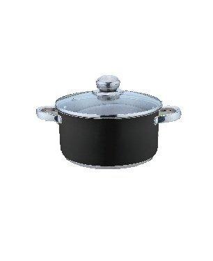 Kinghoff Garnek 1,5l Czarny KH-4544