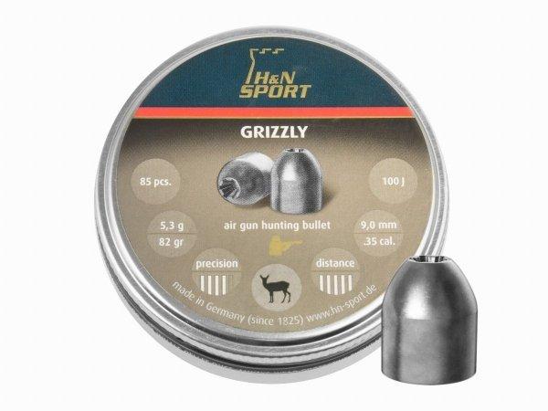 Śrut diabolo H&N Grizzly 9 mm 85 szt.
