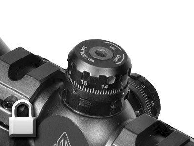 Luneta celownicza Leapers UTG Mini 3-9x32 1'' AO MilDot EZ-Tap