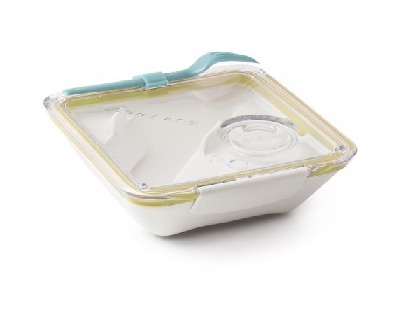 Black+blum Lunch box BOX APPETIT, żółto-biały
