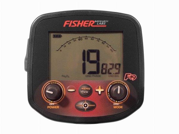 Wykrywacz metali Fisher F19 11'' DD
