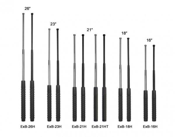 "Pałka teleskopowa ESP hartowana 21"" Black (EXB-21H BLK)"