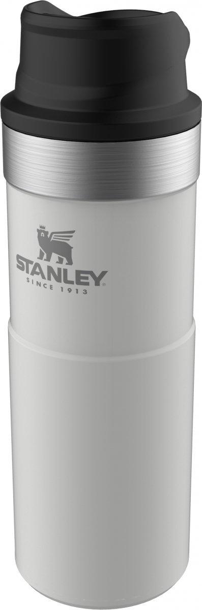 Kubek termiczny stalowy TRIGGER CLASSIC - biały 0.47L / Stanley