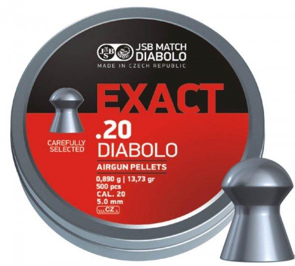 Śrut diabolo JSB Exact 5,1 mm 500 szt.