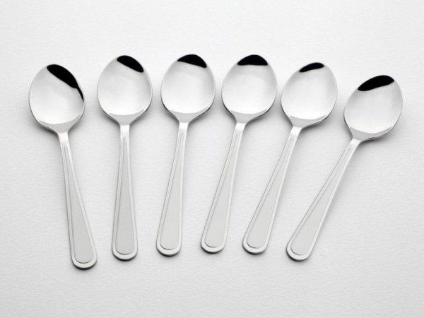 Gerlach Antica - komplet łyżeczek do herbaty 6 szt. dla 6 osób, matowione