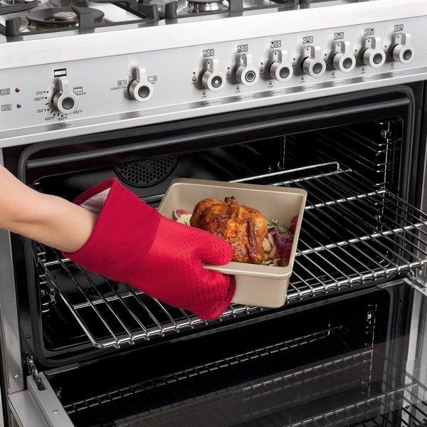 Rękawica kuchenna - czerwona - GoodGrips / OXO