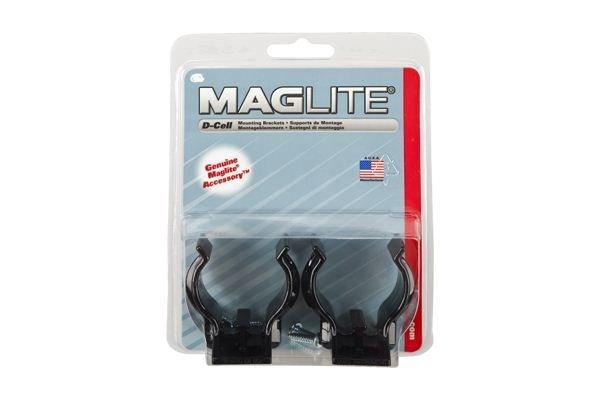 Uchwyty na latarkę Maglite D do zamontowania w stałym miejscu