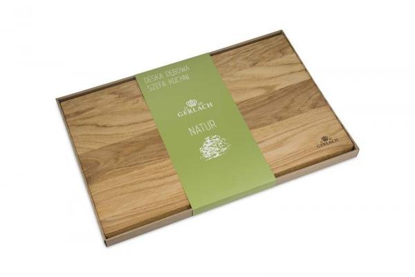 Deska z drewna dębowego 45x30 cm Gerlach NATUR