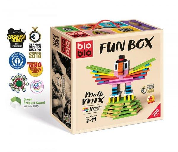 Bioblo 200 klocków Fun Boxn