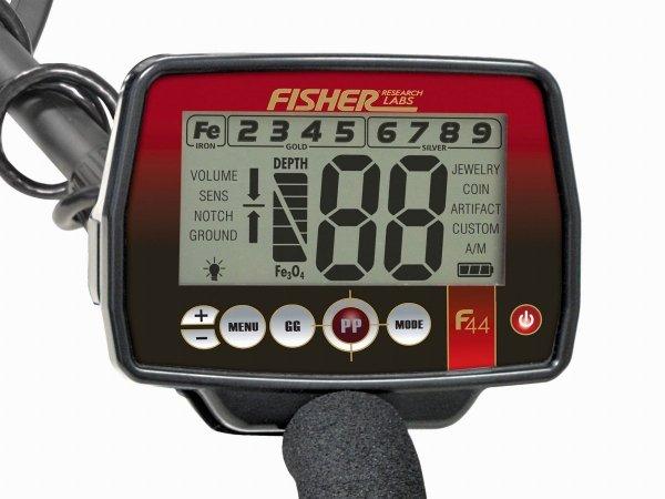 Wykrywacz metali Fisher F44 11''