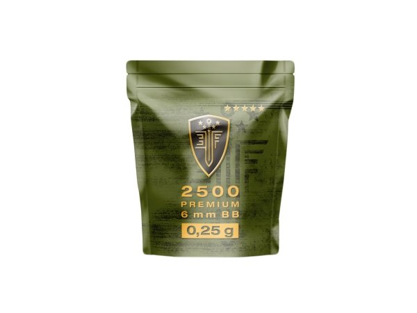 Kulki BB do ASG Elite Force Premium 0,25 g 6 mm 2500 szt.