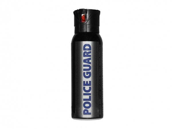 Gaz obronny pieprzowy KO Police Guard 100 ml - strumień