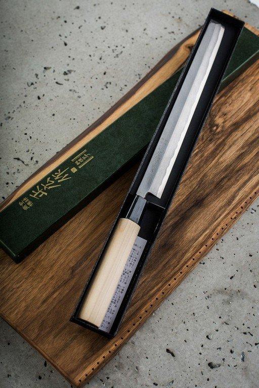 Nóż Masahiro Bessen Takohiki 270mm [16230]