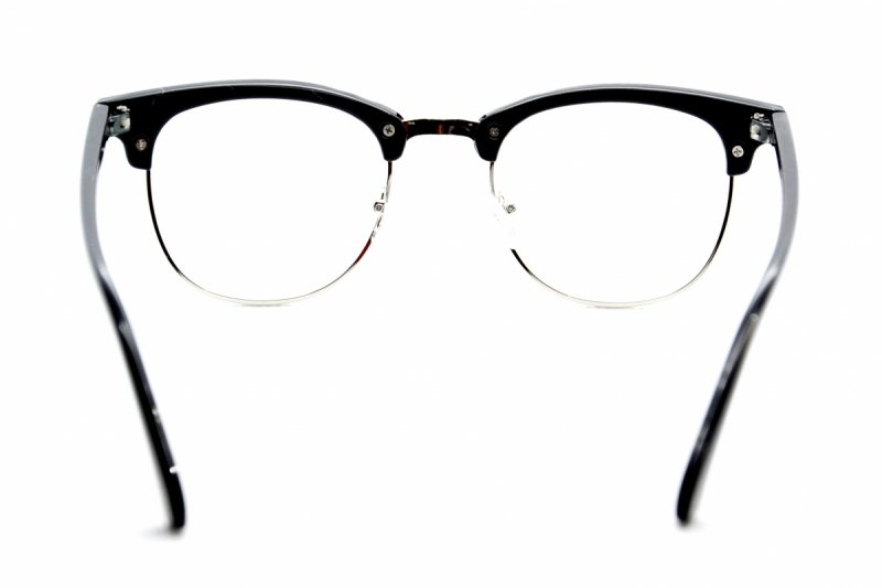 My Style - Okulary Zerówki - Srebrne
