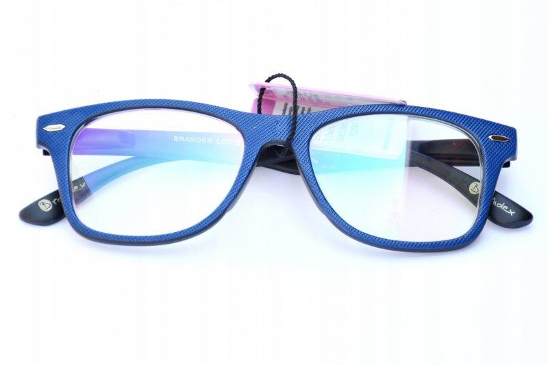 Blue Laguna +1,0 - Okulary Korekcyjne z Antyrefleksem