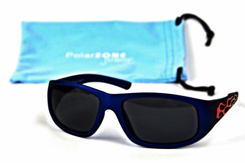 Fireball - Dziecięce Okulary Polaryzacyjne - Niebieskie