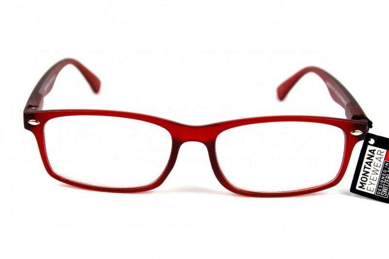 Master - Okulary do pracy przy komputerze - Czerwone