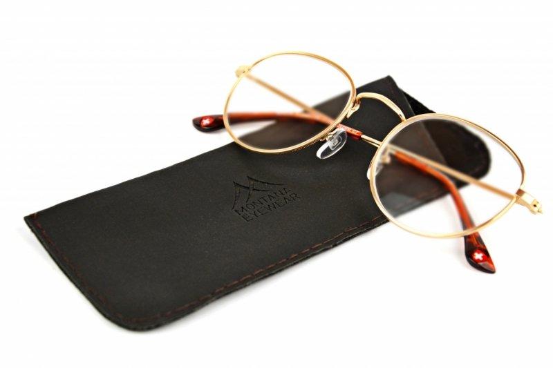 Gemi +3,0 - Okulary Korekcyjne - Złote