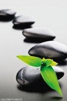 Zen Stones - Green - plakat